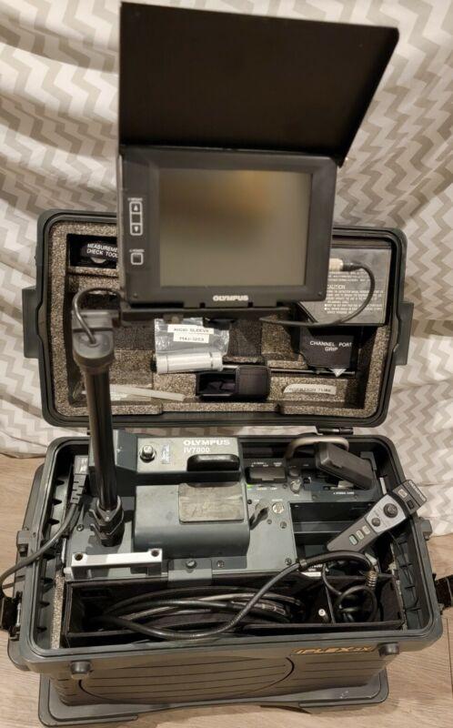 Olympus iPLEX SX II 6mm IV7635X1 IV7000-2 Borescope Insection Camera w/Case ✈📹✅