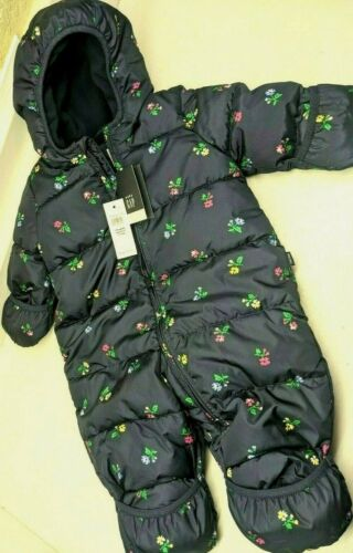 Baby GAP factory snowsuit bunting puffer 0-6 month girl