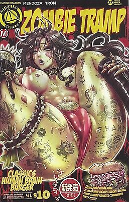 ZOMBIE TRAMP ONGOING #27 RISQUE Cover F CHANG RISQUE 2016 NM Action Lab Comics