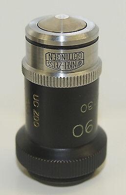 Winkel Zeiss Gottingen H.i. 90 Ap. 1.30 Ph 90x Phase Microscope Objective