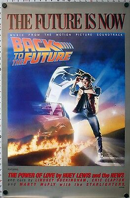 Back To The Future - Original Soundtrack Poster - Drew Struzan - 1985