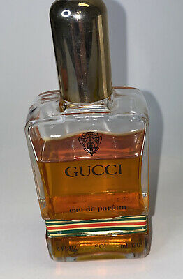 Gucci No # 1 Eau de Parfum 1974 Vintage Original 120ml 4 Oz Splash 3/4 Full