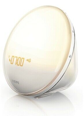 Philips SmartSleep HF3520/60 Wake-Up Light Alarm Clock