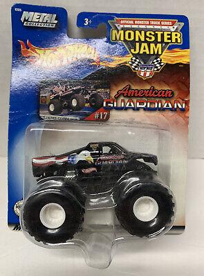 "2002 Hot Wheels Monster Jam Truck ""AMERICAN GUARDIAN""1:64 Metal Base #17"
