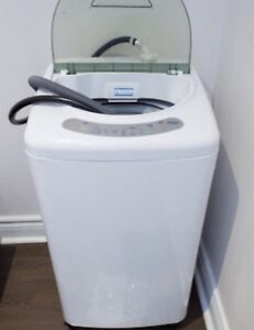 NEW small portable washer Haier hlp21n... can Deliver