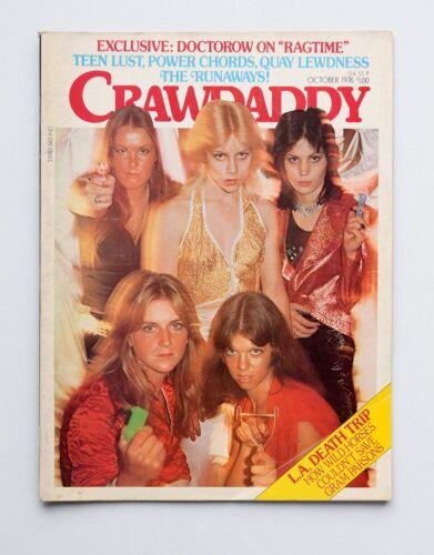 Crawdaddy Magazine Oct 1976, The Runaways, Gram Parsons