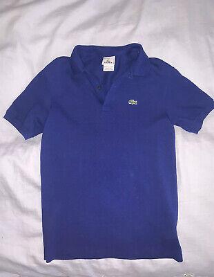 Lacoste Polo Shirt Boys Size 12