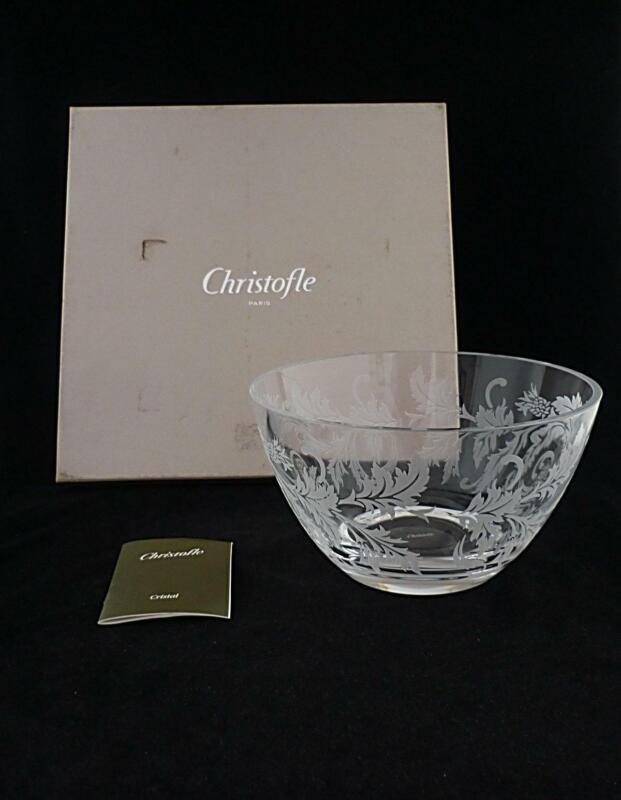 "CHRISTOFLE - LARGE ORANGERIE BOWL   BOX - 8 3/8"" DIAMETER"