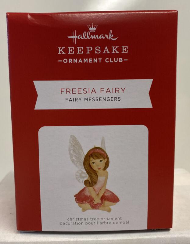 2021 Hallmark Keepsake KOC Freesia Fairy / Fairy Messengers Ornament REPAINT