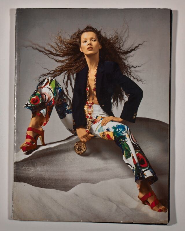 Gianni Versace by Richard Avedon, Collezione Donna Primavera Estate 1993 N.24