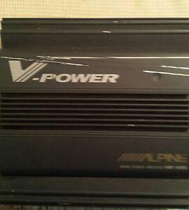Alpine v power amp 4 channel mono