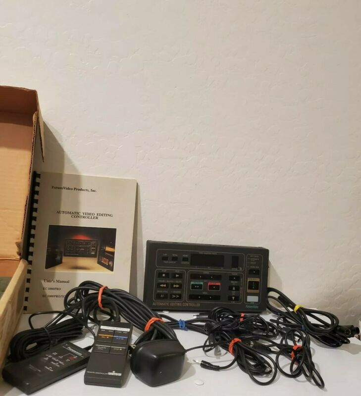 FUTURE VIDEO PRODUCTS, VINTAGE, AUTOMATIC VIDEO EDITING CONTROLLER EC 1000PR0