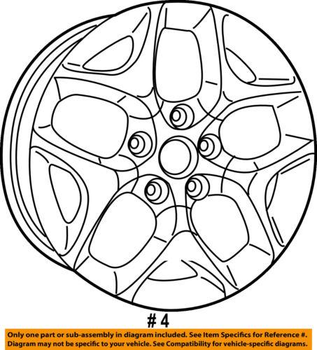 Chrysler Oem 17 18 Pacifica Wheel Alloy Aluminum 5rj43ls1ab