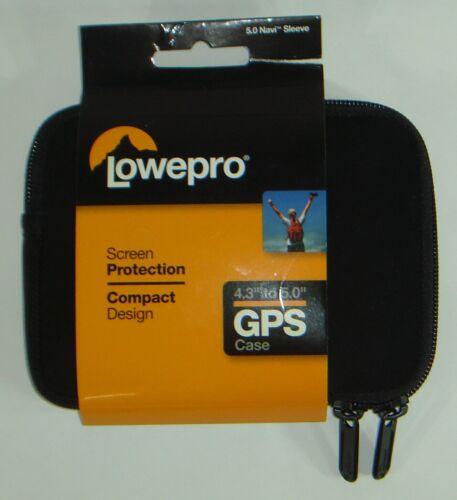 Lowepro 4.3-Inch Navi Sleeve GPS Carrying Case NEW (Black) SAME DAY SH