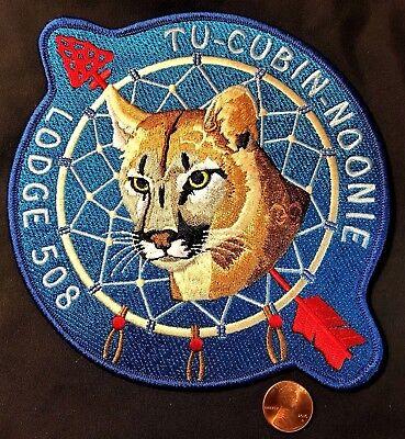 OA TU-CUBIN-NOONIE LODGE 508 BSA UTAH NATIONAL PARKS COUNCIL COUGAR JACKET PATCH