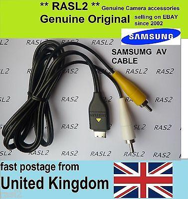Original SAMSUNG AV Cable Digimax PL57 PL60 PL65 PL80 PL90 ST100 ST45 WB2000