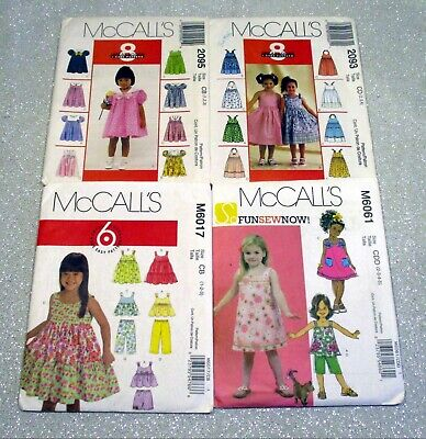 Summer Crafts For Toddlers (McCall's Spring & Summer Outfits for Toddlers, sizes 1 to)