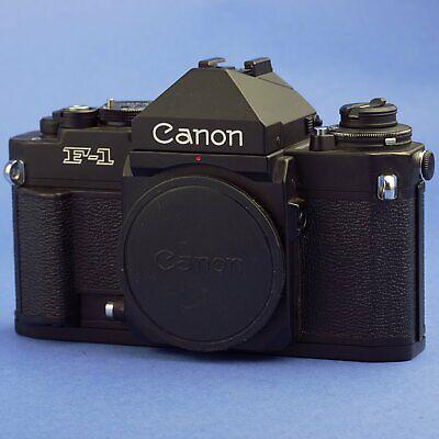 Canon F-1N Film Camera Body with Eye Level Finder FN Beautiful (Eye Shape Finder)