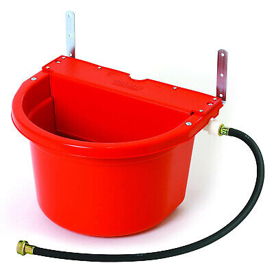 Little Giant Fw16red 4 Gal. Auto Float Controlled Waterer Livestock Water Trough