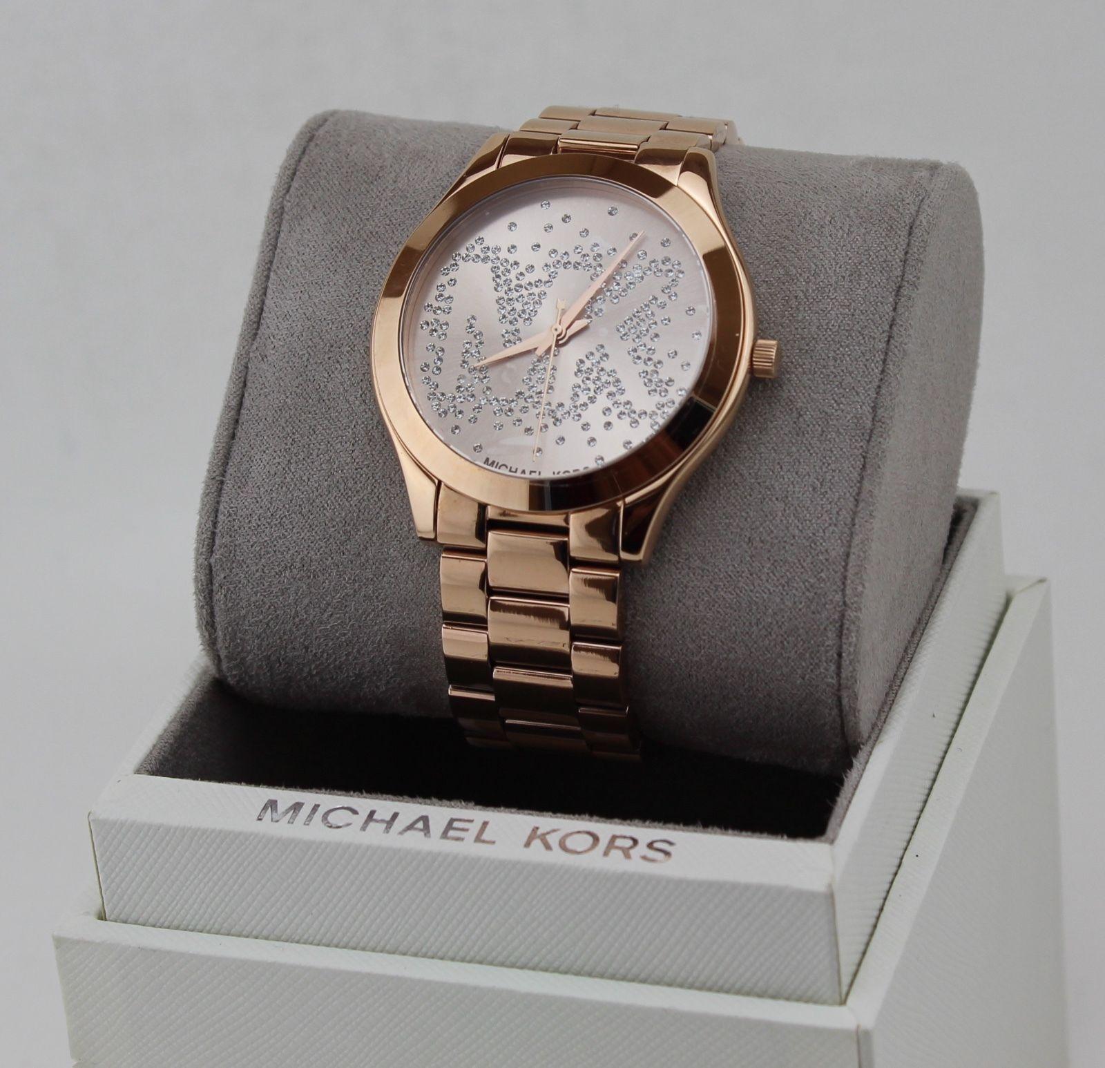 Michael Kors® Slim Runway Three Hand Watch