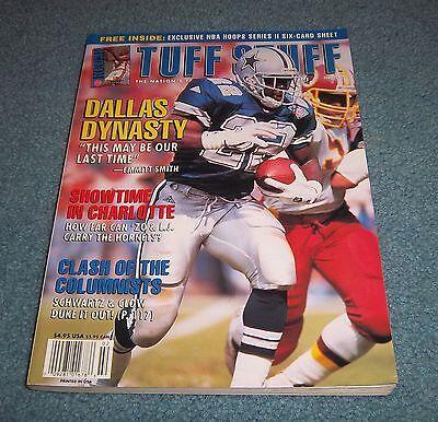Dallas Cowboys Emmitt Smith Tuff Stuff Football Card Monthly Magazine - Cowboy Stuff