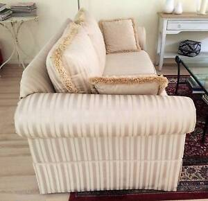 2 Attractive Sofas - matching pair Abbotsford Canada Bay Area Preview
