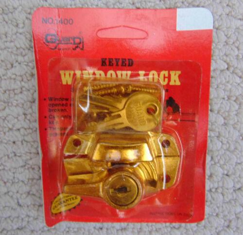 Keyed Window Lock package of 12
