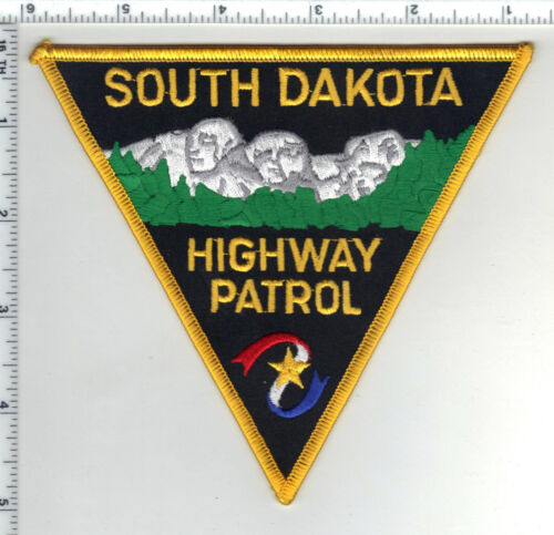 Highway Patrol (South Dakota) Shoulder Patch from the 1980