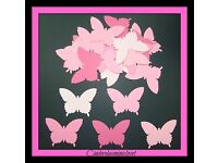 MARTHA STEWART ROYAL BUTTERFLY PUNCHES 75 BUTTERFLIES DIE CUT PUNCHIES