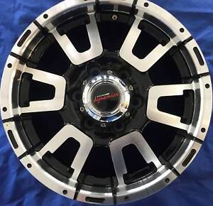 SET OF FOUR (4) PDW 16x7.5 6/139.7 et15 KRATER Tweed Heads South Tweed Heads Area Preview