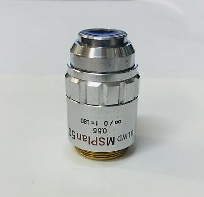 Olympus Ms Plan 50x0.55 Ulwd Microscope Objective 180mm Msplan -