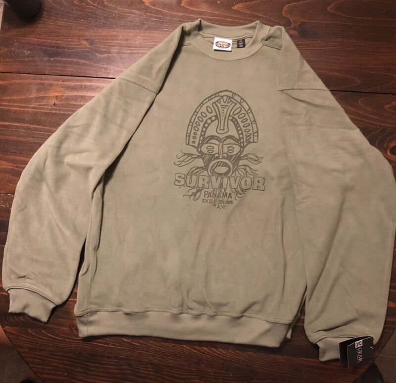 Survivor: Panama XXL official sweatshirt - New with tags!
