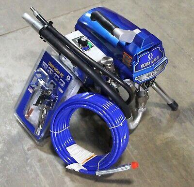 Graco Ultra Max Ii 490 Pc Pro Electric Airless Sprayer Stand 17e852