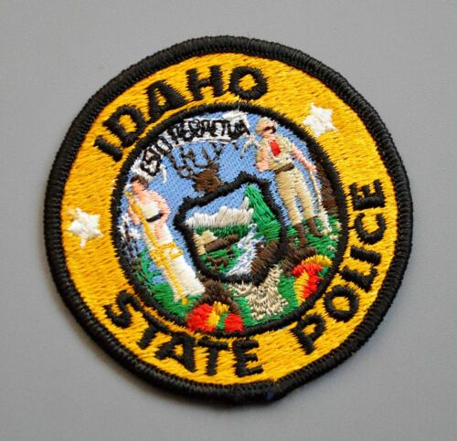 Idaho State Police Early Issue (1960s - 1970s era) Patch ++ Mint ISP ID