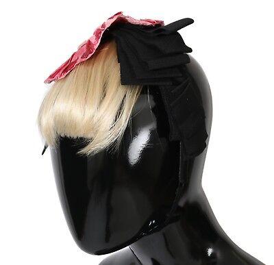 NEW $900 DOLCE & GABBANA Diadem Headband Floral Roses Hair Sicily Parrucchiera