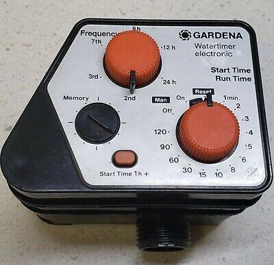 1994 Gardena Electronic Water Timer #31229 Gardena Water Timers