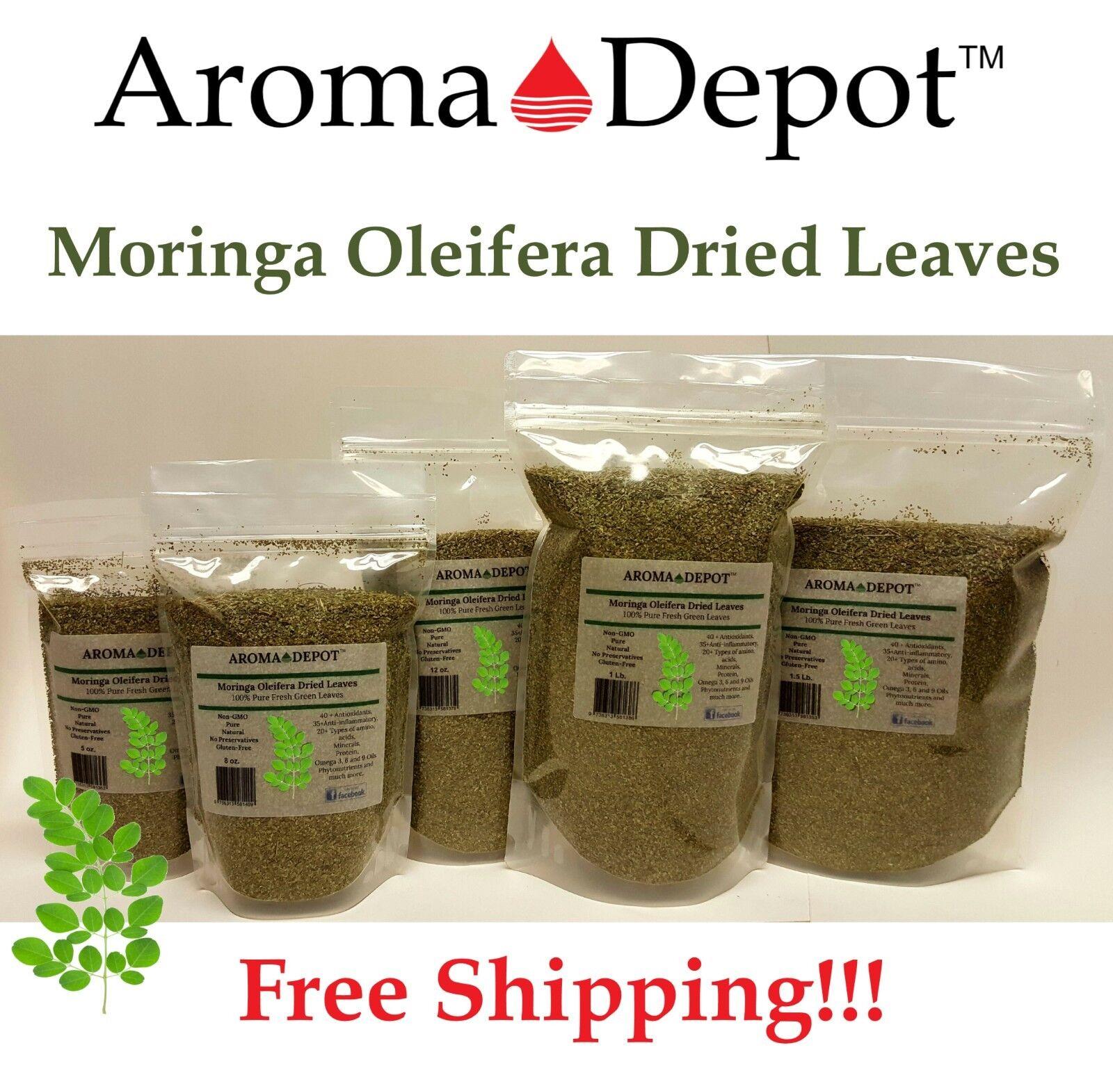 moringa oleifera dried leaves 100 percent pure