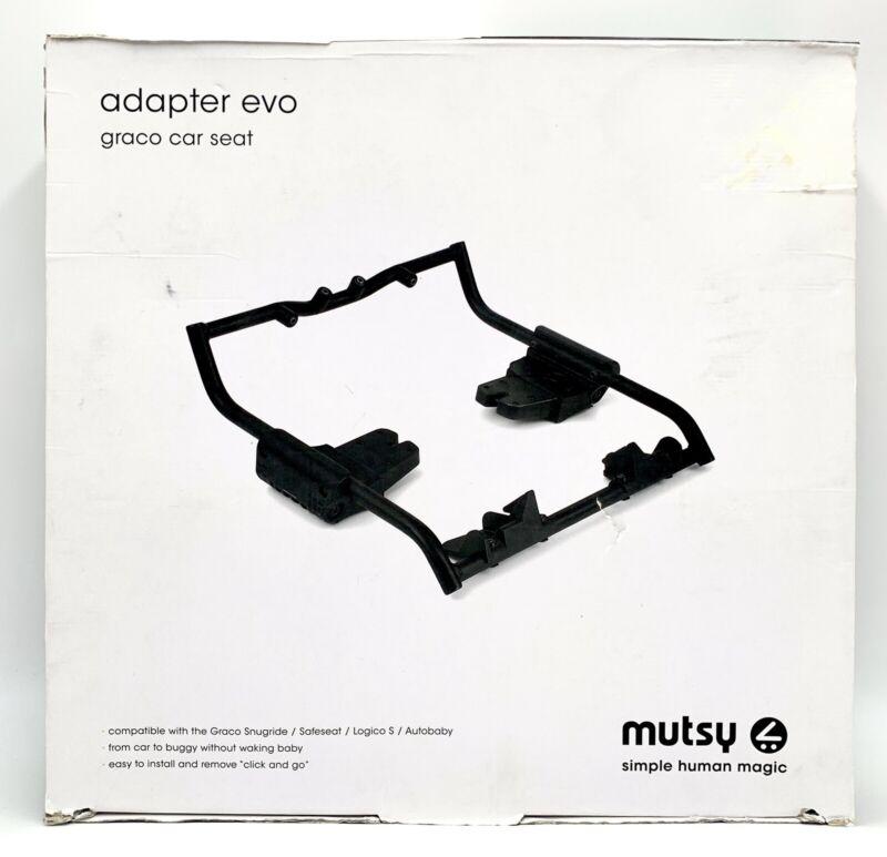Mutsy Evo Stroller Graco Infant Car Seat Adapter, Black