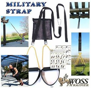 WOSS-Military-Black-Trainer-Made-In-US-Suspension-System-Home-Gym-Training