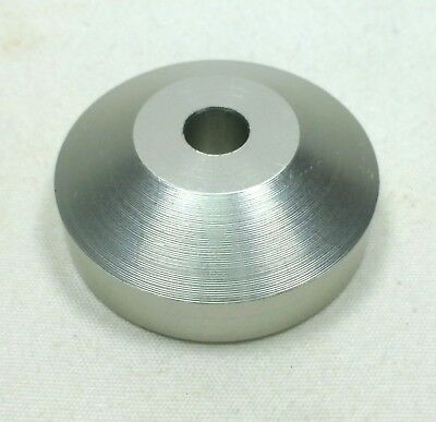 """Technics Dome Cone Shape 45 RPM Record Turntable Adapter for 7"""" Vinyl"""