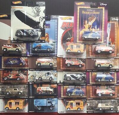 Hot Wheels Pop Culture Premium Real Rider Car Culture Diecast 1/64 Lot of 22 NEW