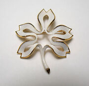 Trifari Leaf Brooch