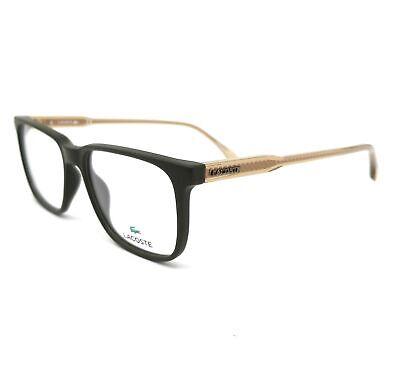 LACOSTE Eyeglasses L2810 318 Matte Army Green Modified Recta