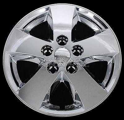 "4 fits Dodge Journey Caravan 2009-18 Chrome 17"" Wheel Skins Hub Caps Full Covers"