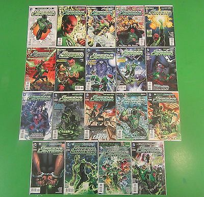 Green Lantern Rebirth #0-18 Run Lot 1st Annual Print 19 Comics - DC