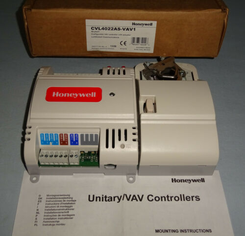 Honeywell CVL4022AS-VAV1 Controller with Intergral Actuator CVL4022ASVAV1 NEW