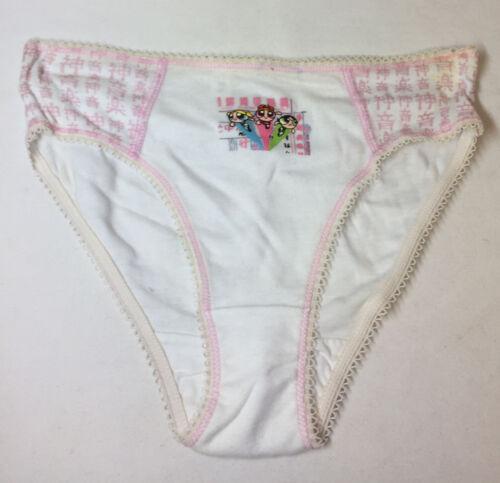 2000 POWERPUFF GIRLS prototype/sample girls panties ~ pink lace ~ XS