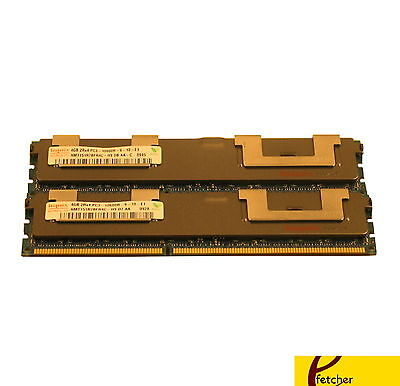 8GB(2X4GB)MEMORY FOR DELL POWEREDGE T410 T610 T710 R610 R710 R715 R810 R815 R915