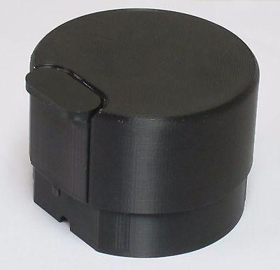 Black Lid for Braun Coffee Mill Grinder models KSM2, KSM4, Type 4041