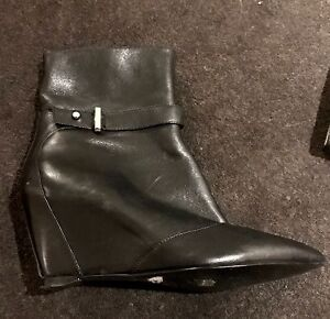 Nine West Leather Boots Size 37 NEW North Sydney North Sydney Area Preview